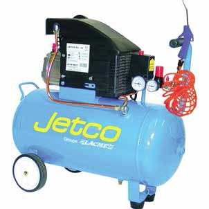 COMPRESSEUR JETCO 50L 2CV 8 BAR